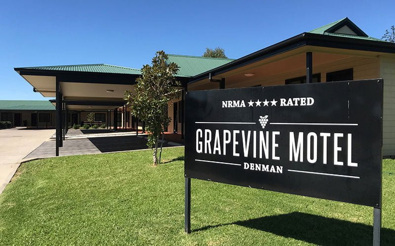 Motel Accommodation Denman - Grapevine Motel Denman